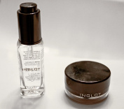 INGLOT Duraline and AMC Gel Eyeliner 77 Black Matte