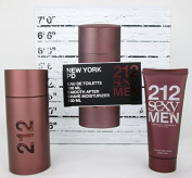 212 Sexy By Carolina Herrera For Men Gift Set
