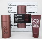 212 Sexy By Carolina Herrera For Men Gift Set
