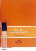 2 vials of EAU DE Mandarine Ambree BY HERMES 0.06 oz / 2 ml Cologne Spray VIAL IN CARD Men