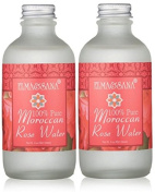 2 X Elma and Sana 100% Pure Moroccan Rose Water, 2 x 120ml