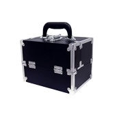 City Lights Lockable Beauty Case, Black