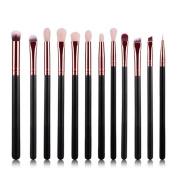 Makeup Brush, Hatop 12Pcs Cosmetic Brush Makeup Brush Sets Kits Tools