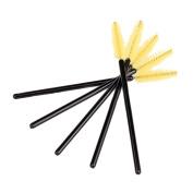 ieasysexy 50pcs Disposable Eyelash Eye Lash Makeup Brushes Wands Applicator Mascara Brush Makeup Tool Set