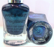 Wet N Wild Megalast Nail Colour Polish, #34291 - See Ya' Soon (Dark Green.Teal Shimmer), .1330ml
