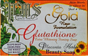 Gluta Placenta Gold Glutathione Extra Whitening Firming Soap
