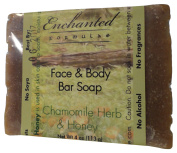 Face & Body Bar Soap with Chamomile Herb & Honey