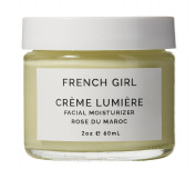 French Girl Organics - Organic / Vegan Rose Creme Lumiere Moisturiser
