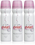Evian Facial Natural Mineral Water Spray-3 ct.