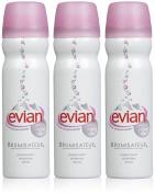 Evian Facial Natural Mineral Water Spray-3 ct.