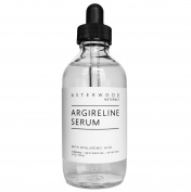 Argireline Serum with Organic Hyaluronic Acid 120ml - Anti Ageing, Anti Wrinkle - Face Moisturiser for Dry Skin & Fine Lines - Skin Relaxer - Asterwood Naturals - 120ml Glass Dropper Bottle