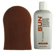 Sun Laboratories Sunless Self Tanning Lotion with Application Mitt (Dark)...