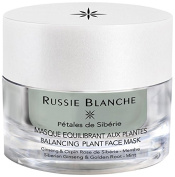 Russie Blanche Siberian Petals Balancing Mask with Plants