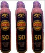 Lot of 3 Duck Commander KIDS Sport Sunscreen Spf 50 Clear & Rub Free