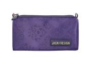 Jacki Design New Essential Travle Cosmetic Bag - Purple