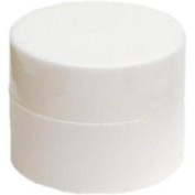 24 Lip Balm Containers - Grand Parfums 5ml White Plastic Lip Balm Jars w/lids, 24 Pack 30ml