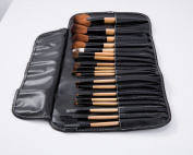 LaiFeiYa - Premium Synthetic Makeup Brush Set 19 Piece - Cosmetics Set Kit with Pouch