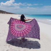 Beach Cover Up , FUA Bikini Boho Summer Dress Swimwear Bathing Suit Kimono Tunic