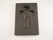 220ml Custom Cross Gold High Density Graphite Mould 120ml Silver Necklace 7.6cm - 0.6cm