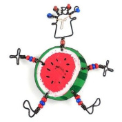 Creative Alternatives Dancing Girl Round Melon Pin