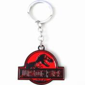 Jurassic Park Keychain