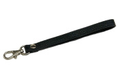 Silvertone Buckle Cowhide Genuine Leather Wrist Straps Replacement for Clutch Wristlet Purse Pouch