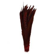 Everyshine Wholesale 120pcs Length10-30cm Pheasant Tail Pearl Feather