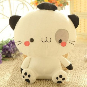 Stuffed Short Plush Shaped Big Cat Face Large Pillow Cushions Nap Doll Home Essential