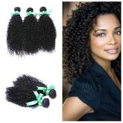 Etino Hair Products 3 Bundles Mix Length 8-80cm Brazilian Curly Virgin Hair Bundle Deals Virgin Remy Human Hair Extension Brazilian Kinky Curly Brazilian Virgin Hair
