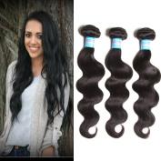 Jolia Hair Virgin Brazilian Hair 4 Bundles 100g/pcs Unprocessed Remy Brazilian Body Wave Human Hair Weave Extensions (12 14 16 18