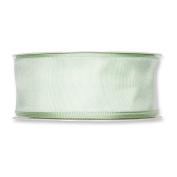 FloristryWarehouse Fabric Ribbon 3.8cm wide x 27 yards Pale Mint