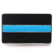 Police Support Pin Line 24 Snap Cap Nickel 2.5cm 1265-72