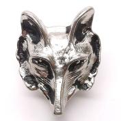 Wolf Head Line 24 Snap Cap Nickel 2.5cm 1265-64