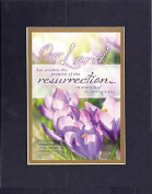 GoodOldSaying - Poem for Inspirations - Our Lord has written the promise of the resurrection . . . on 8x10 Biblical Verse set in Double Mat (Black On Gold) - A Priceless Poetry Keepsake Collection