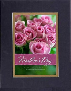 GoodOldSaying - Poem for Mothers - Call Her Blessed (Proverbs 31:28) . . . Poem on 8x10 Biblical Verse set in Double Bevelled Matting (Black On Gold) - A Priceless Poetry Keepsake Collection