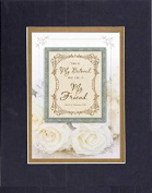 GoodOldSaying - Poem for Love & Marriage - This is My Beloved . . . Poem on 8x10 Biblical Verse set in Double Bevelled Matting (Black On Gold) - A Priceless Poetry Keepsake Collection