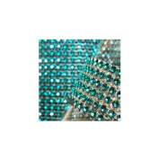 Koyal Aquamarine Diamond Rhinestone Ribbon Wrap 11cm W x 90cm L