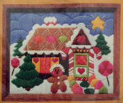 1982 The Creative Circle Counted Cross Stitch Kit 2181 Gingerbread House
