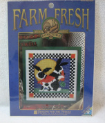 Farm Fresh (From the Hometown Collection) Counted Cross Stitch Kit 6705 Bunnies