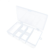 1 PC Arts Crafts Sewing Organisation Storage Transport Boxes Organisers Clear Beads Tackle Box Case 161TF