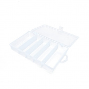 1 PC Arts Crafts Sewing Organisation Storage Transport Boxes Organisers Clear Beads Tackle Box Case 237KG