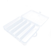 1 PC Arts Crafts Sewing Organisation Storage Transport Boxes Organisers Clear Beads Tackle Box Case 934GO