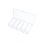 5 PCS Arts Crafts Sewing Organisation Storage Transport Boxes Organisers Clear Beads Tackle Box Case 135LM