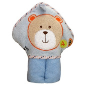 Kidiway Hooded Towel, Blue Bear