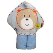 Kidiway Hooded Towel, Blue Bear