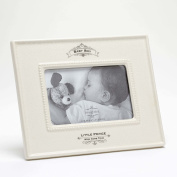 Insignia 4050325 Little Prince Baby Boy Photo Frame, 24cm , Ivory