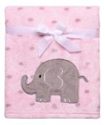 Pink Elephant Ultra Plush Blanket