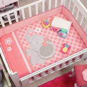 Special Edition Baby Little Elephant 2 Pcs Baby Nursery Crib Bedding Set by JORGE'S