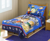 Alvinn & The Chipmunks Toddler Bedding Set, Blue/Navy
