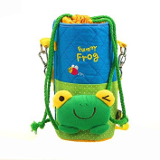 Korean Cute Frog Baby Universal Bottle Holder Warmer Cooler Bag Carrier